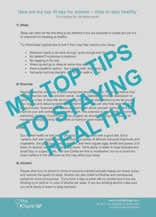 Digitla GP Top Tips on Staying Healthy